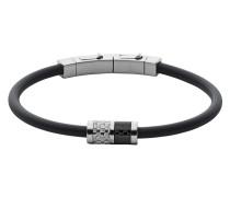 Armband Olaf aus Kunststoff, Edelstahl & Karbon