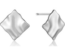 Ohrstecker Crush Mini Square Earrings 925er Silber