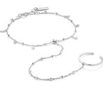 Armband Bohemia Hand Chain Bracelet 925er Silber
