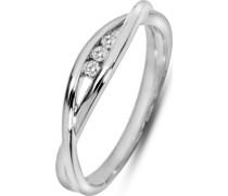 Damenring 3 Diamant