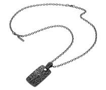 Halskette Emblem aus Edelstahl