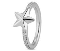 Ring aus 925 Sterling Silber mit Zirkonia-58