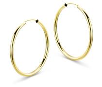 Creolen aus 333 Gold | Durchmesser 30 mm | Stärke 2 mm