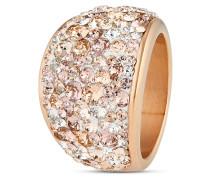 Ring aus Edelstahl mit Swarovski-Steinen