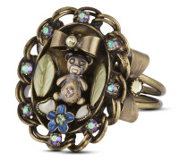 Ring Arsenic in Old Lace mit Swarovski-Steinen