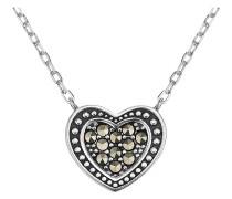 Halskette aus Sterling Silber mit Markasit