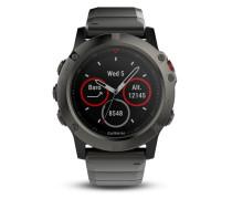 Smartwatch Fēnix® 5X Saphir Metall 010-01733-03