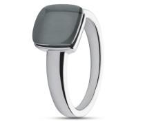 Ring Sea Glass aus Edelstahl-56