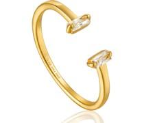 Damenring Glow Adjustable Ring 925er Silber Zirkonia