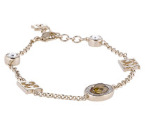Armband vergoldet mit Swarovski-Steinen