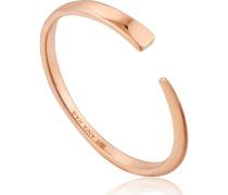 Damenring Geometry Flat Adjustable Ring 925er Silber