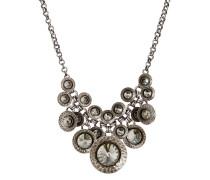 Halskette Rivoli Concave aus Metall mit Glassteinen