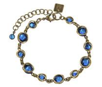 Armband Sparkle Twist aus Metall mit Glassteinen