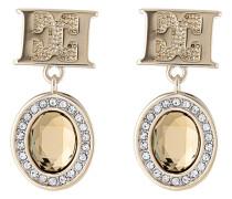 Ohrhänger vergoldet mit Swarovski-Steinen