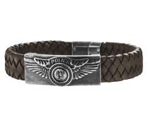 Armband Freedom aus Leder & Edelstahl