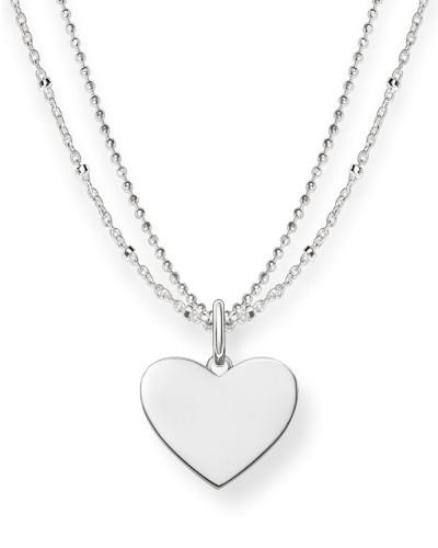 Halskette Love Bridge aus 925 Sterling Silber