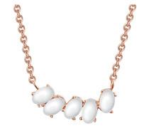 Halskette aus Sterling Silber mit Kristall