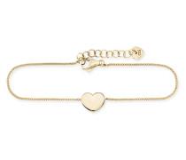 Armband Hearts <3 aus vergoldetem 925 Sterling Silber