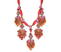 Halskette Mandala mit Swarovski-Steinen