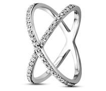 Ring aus 925 Sterling Silber mit Zirkonia-52
