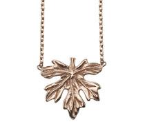 Halskette aus rosévergoldetem 925 Sterling Silber