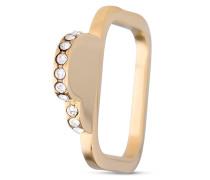 Ring Sparkly Heart Swarovski Steine-52