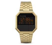 Digitaluhr Re-Run A158 502-00 All Gold