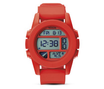 Digitaluhr Unit A197 383-00 Red Pepper