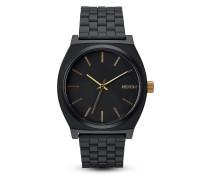 Quarzuhr Time Teller A045-1041-00 Matte Black / Gold