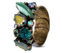 Ring Fiancee aus Metall mit Glassteinen