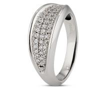 Ring aus 925 Sterling Silber mit Zirkonia-56