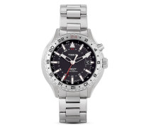 Quarzuhr Timex® 3-GMT mit IntelligentQuartz™ Technologie T2P424