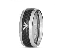 Ring aus Edelstahl & Karbon-66