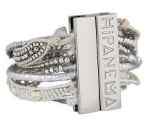 Armband Ohmaysilver aus Messing & Stoff