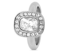Ring Denas aus Edelstahl mit Swarovski-Steinen