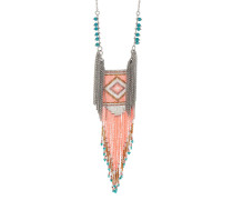 Halskette Birdpink aus Kupfer
