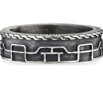 Ring Culture Collector aus Sterling Silber