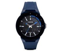 Quarzuhr Trend Man K5629/3 blau-schwarz