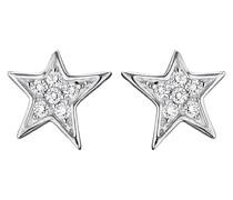Ohrstecker aus 925 Sterling Silber mit Zirkonia