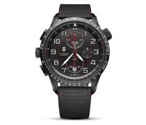 Schweizer Automatikchronograph Airboss Mach 9 Black Edition 241716