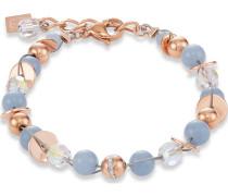 Coeur de Lion Damen-Armband Edelstahl Swarovski-Kristall