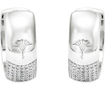 Creolen 925er Silber 98 Zirkonia
