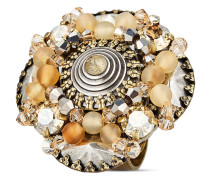 Ring Earth, Wind & Glamour mit Swarovski-Steinen