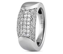 Ring aus 925 Sterling Silber & Kunstharz mit Zirkonia-53