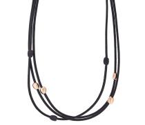 Halskette Polvere di Sogni aus Leder & 925 Sterling Silber