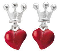 Ohrstecker Crown Of My Heart 925 Sterling Silber