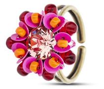 Ring Kaleidoscope mit Swarovski-Stein