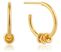 Creole Modern Hoop Earrings 925er Silber