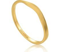 Damenring Modern Curve Ring 925er Silber
