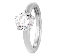 Ring 925 Sterling Silber-Zirkonia